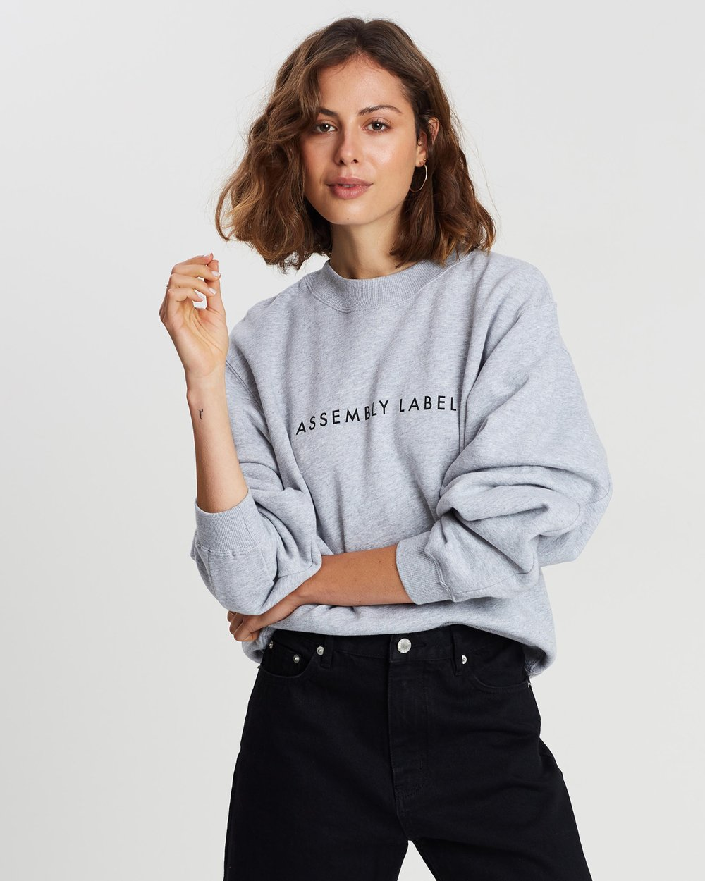 Assembly Label Logo Fleece Sweater