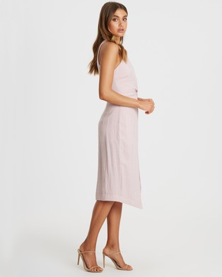 Tussah - Narita Midi Dress - Bridesmaid Dresses (Pale Pink) Narita Midi Dress