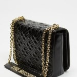 LOVE MOSCHINO - Quilted Soft Tote - Handbags (Black) Quilted Soft Tote