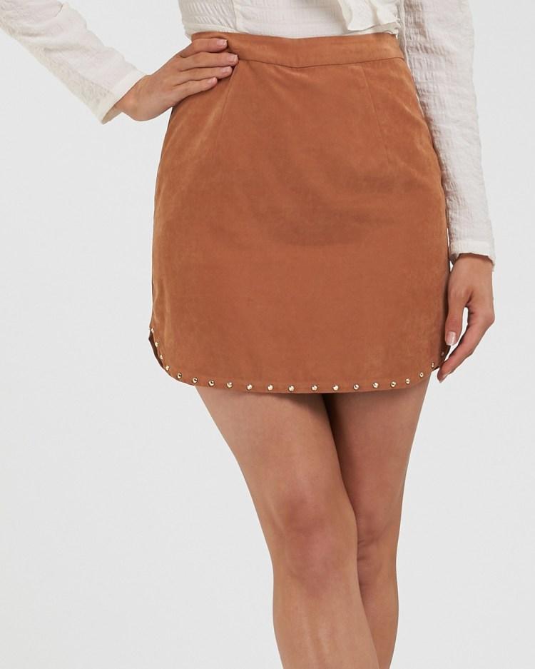 Amelius Zepplin Skirt Skirts Rust