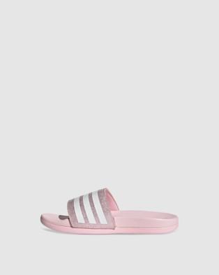 adidas Performance ADILETTE COMFORT K Sandals Pink