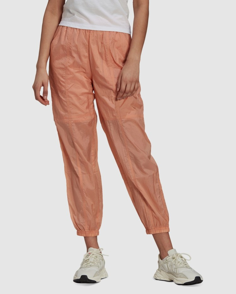 adidas Originals Adicolor Ripstop Track Pants Pink