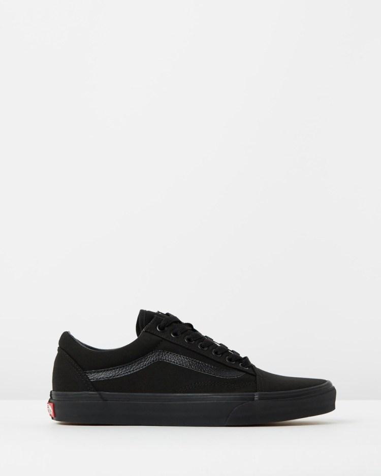 Vans Old Skool Unisex Sneakers Black & Black Canvas