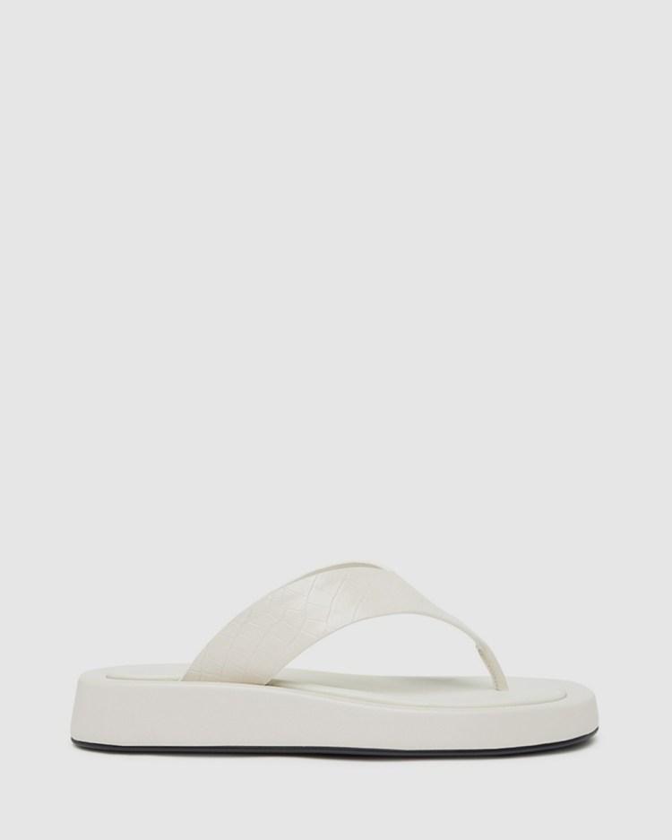 LMS The Jacqui Sandals Cream