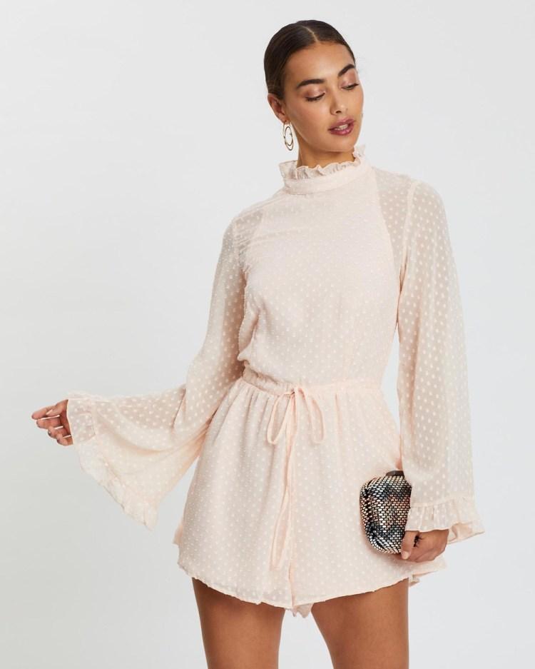 Loreta Scarlett Playsuit Jumpsuits & Playsuits Blush