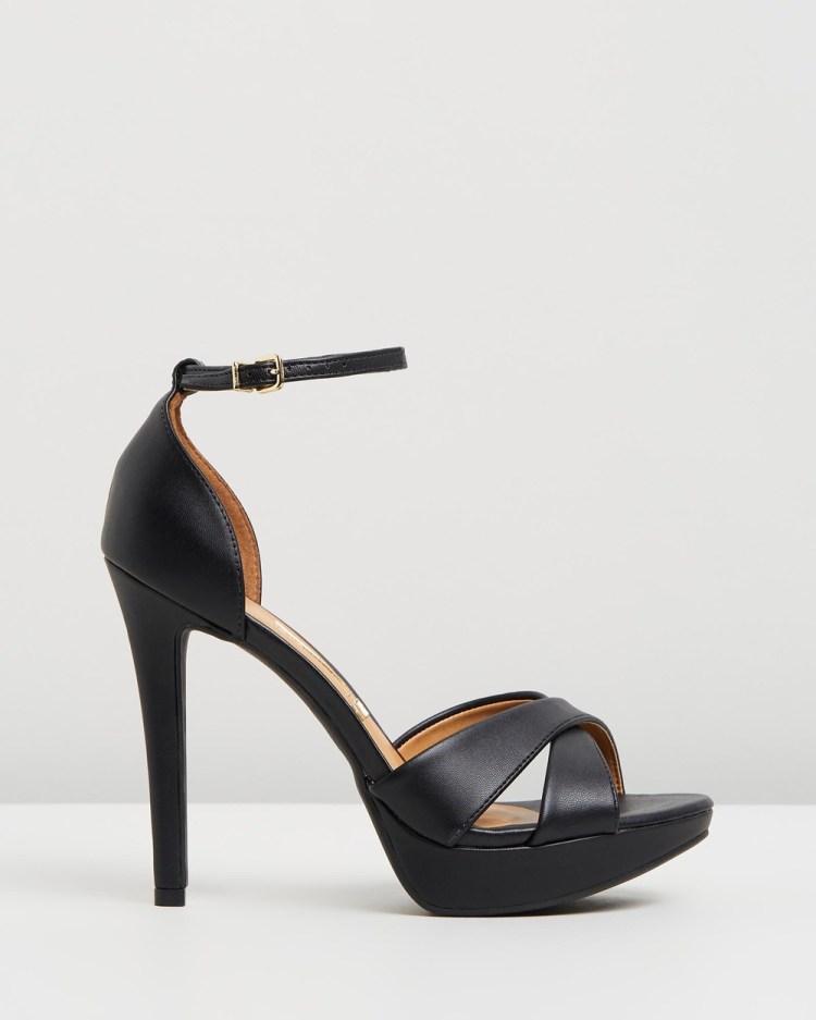 Vizzano Lena Heels Sandals Black