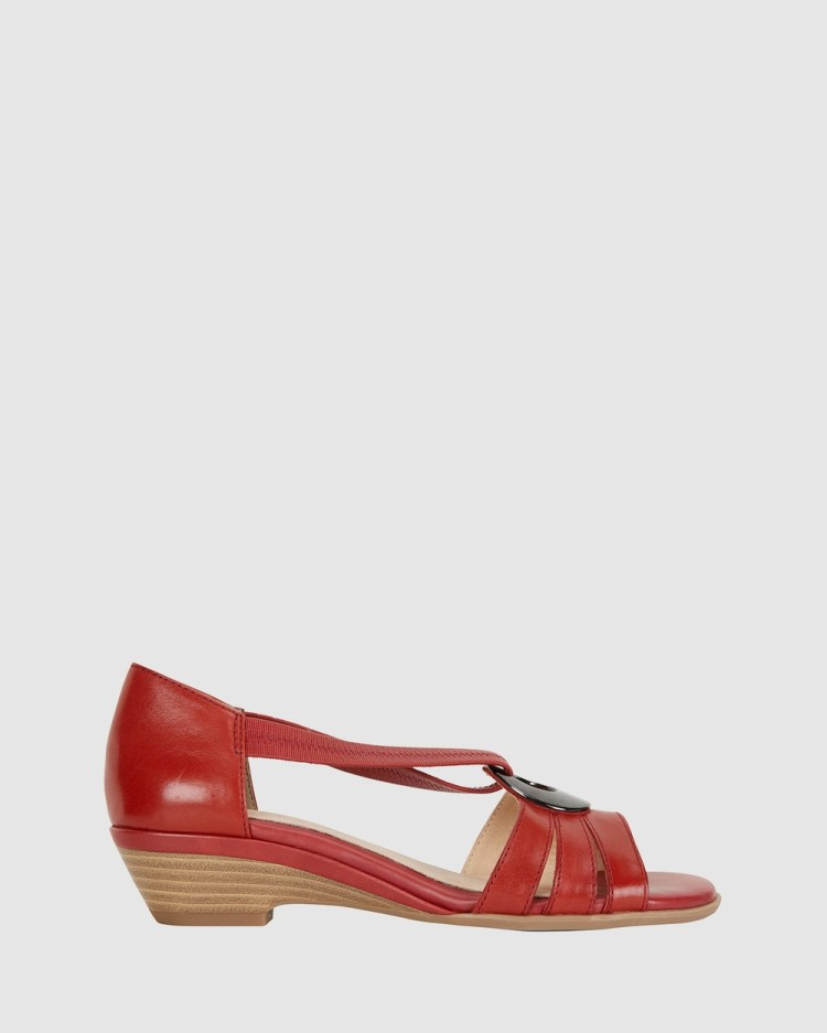Easy Steps Corina Sandals RED