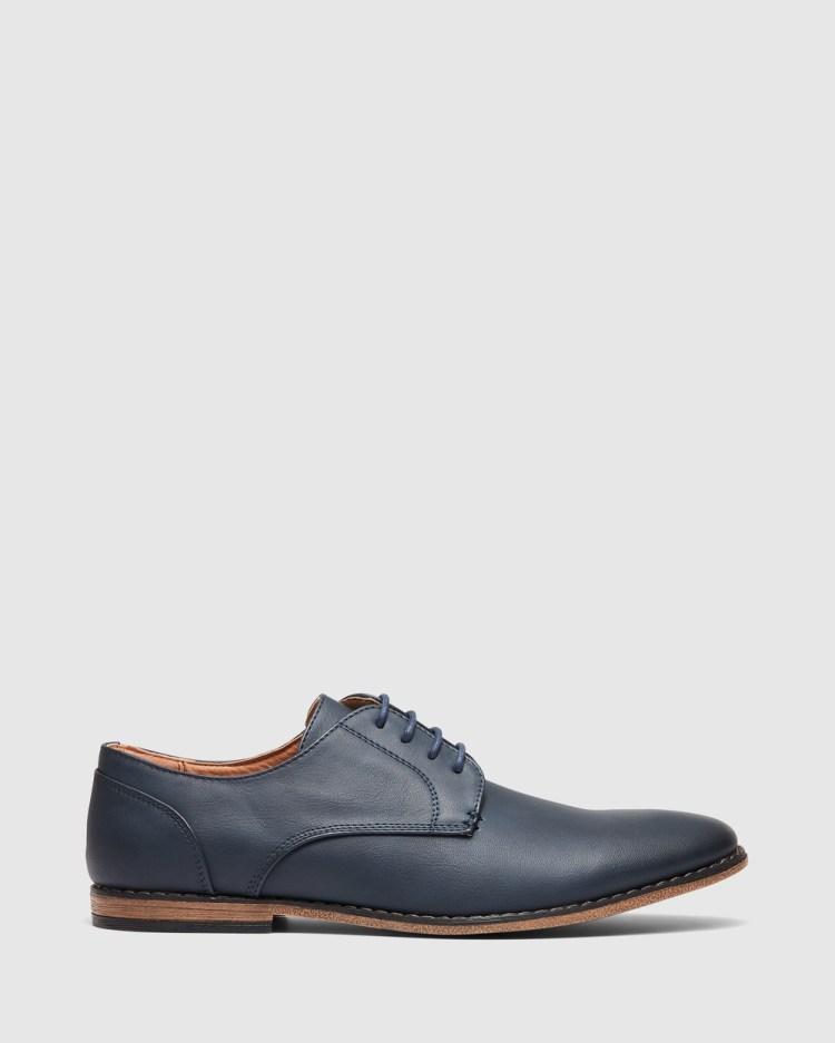 Uncut Marcus Dress Shoes Navy