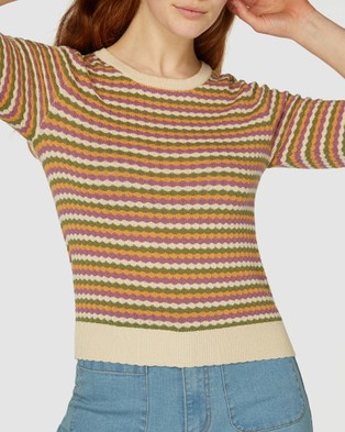 Princess Highway - Amelia Knit Top - Jumpers & Cardigans (Multi) Amelia Knit Top