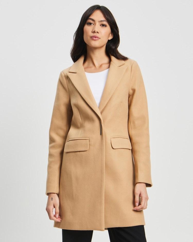 Willa Beckton Coat Coats & Jackets Light Tan