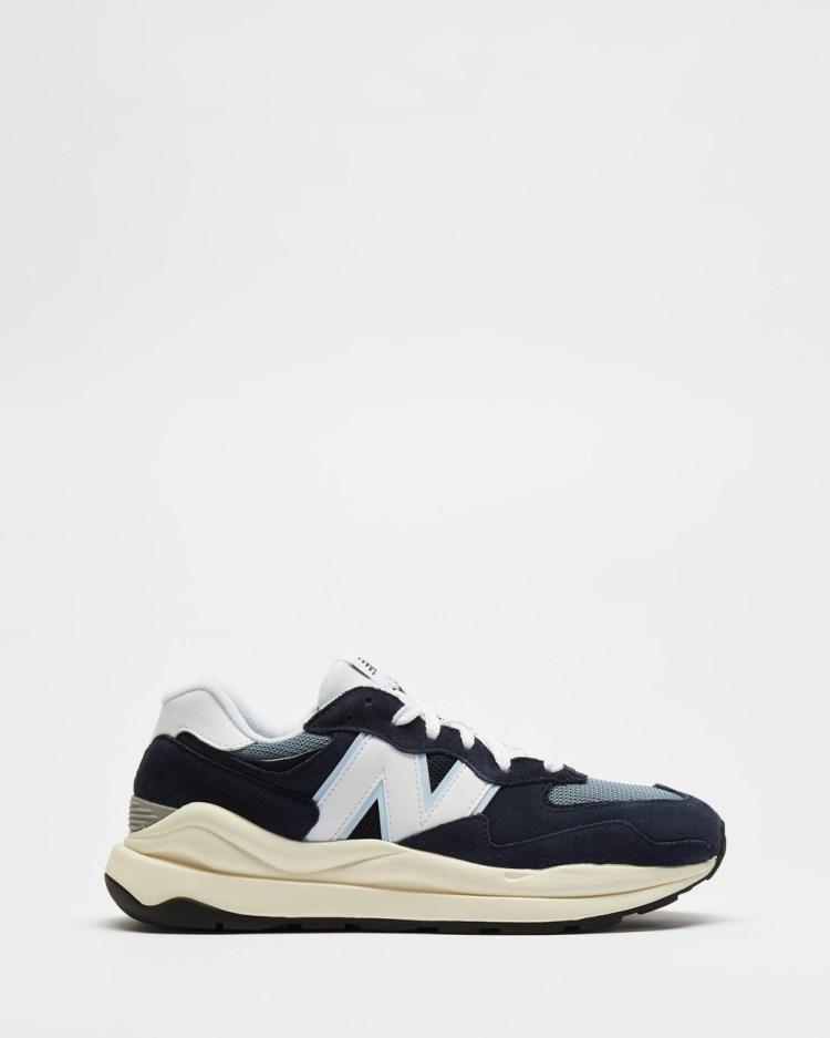 New Balance Classics 57 40 Men's Lifestyle Sneakers Navy & White 57-40