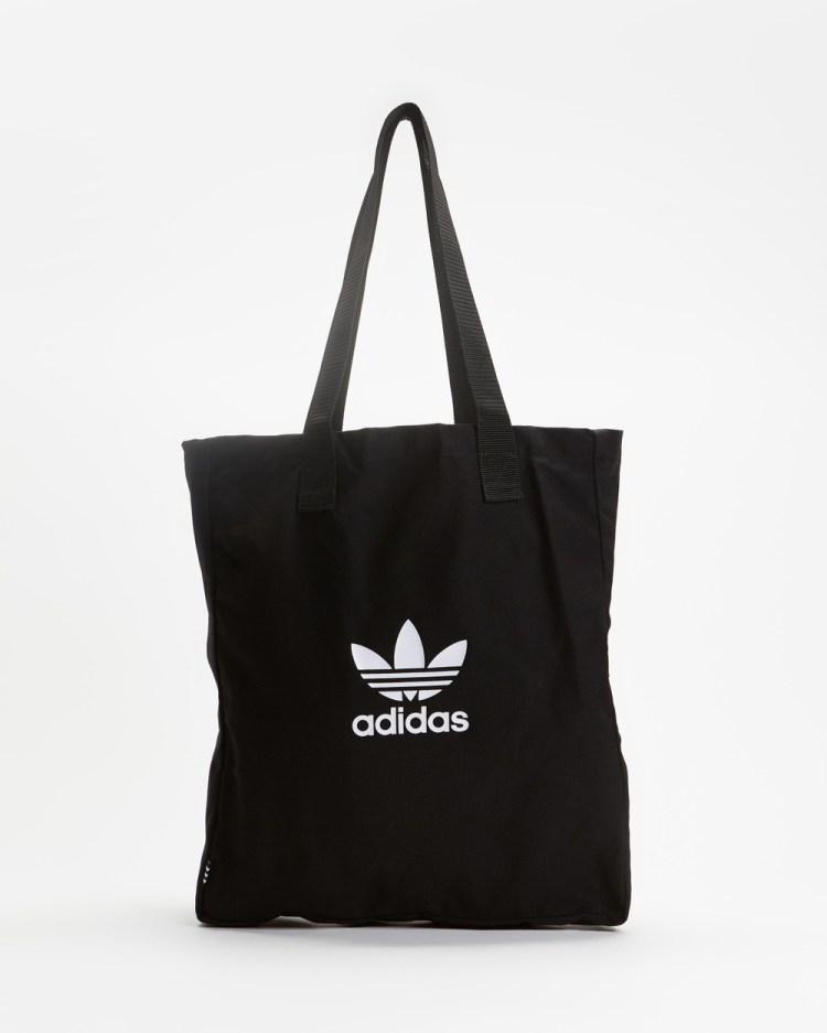 adidas Originals Adicolour Shopper Tote Bags Black