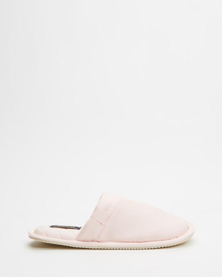 Polo Ralph Lauren Summit Scuff Slippers Women's & Accessories Light Pink