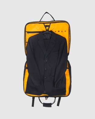 American Tourister - AT Accessories Smart Garment Bag - Travel and Luggage (Black & Yellow) AT Accessories Smart Garment Bag