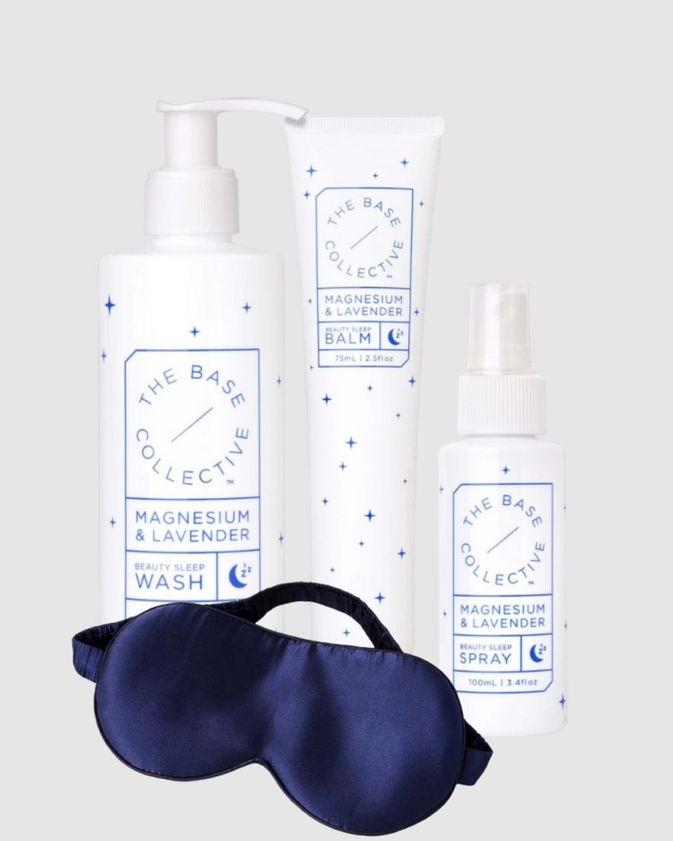The Base Collective Beauty Sleep Pack Wellness White