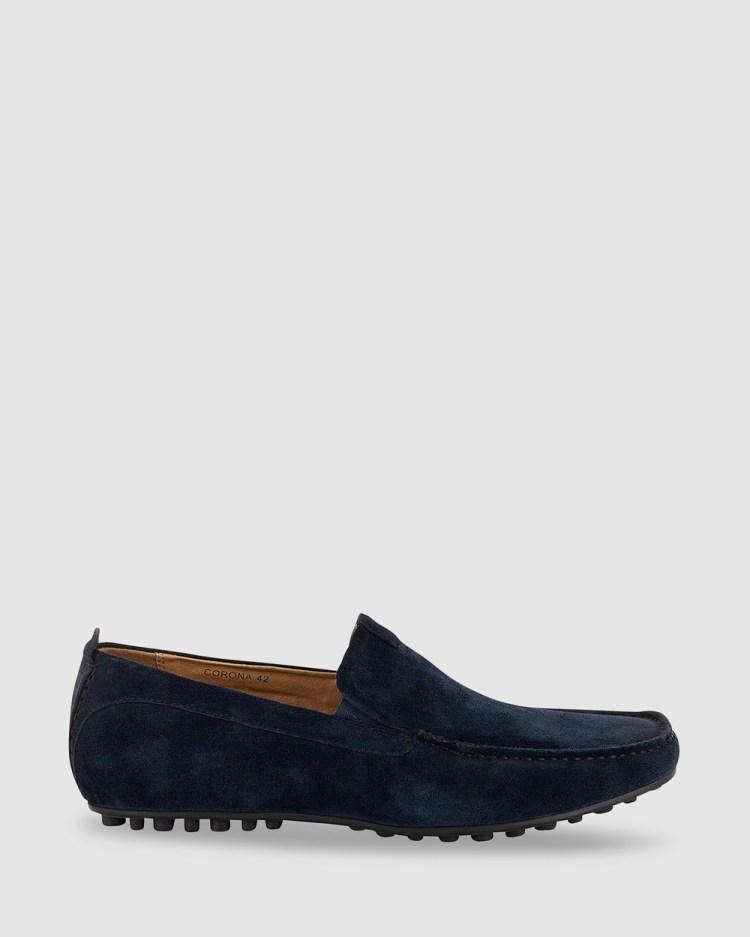 Florsheim Corona Casual Shoes Navy