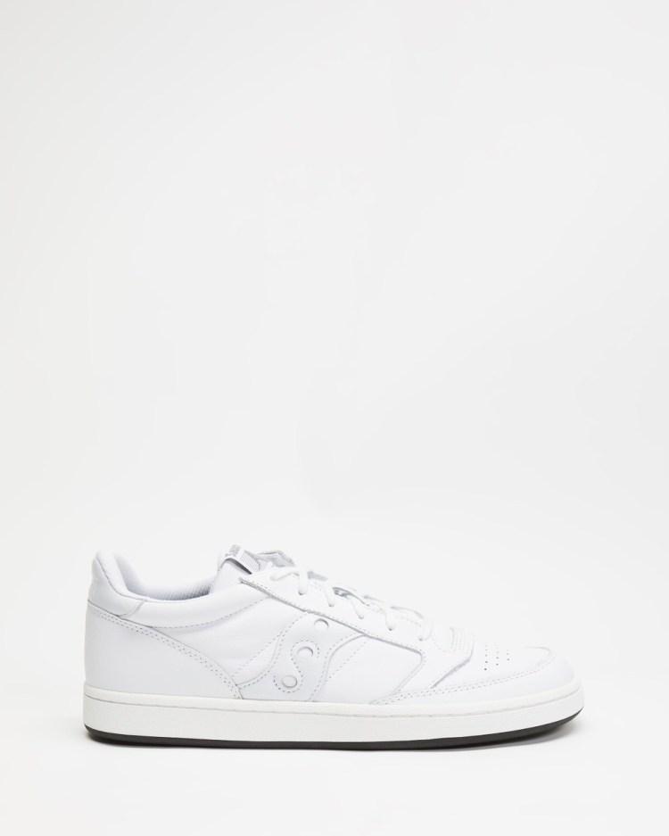 Saucony Jazz Court Men's Lifestyle Sneakers White & White