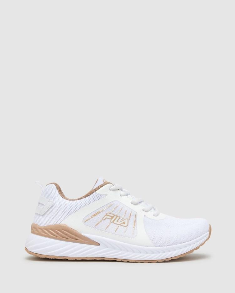 Fila Ferrara Women's Performance Shoes White/Almond