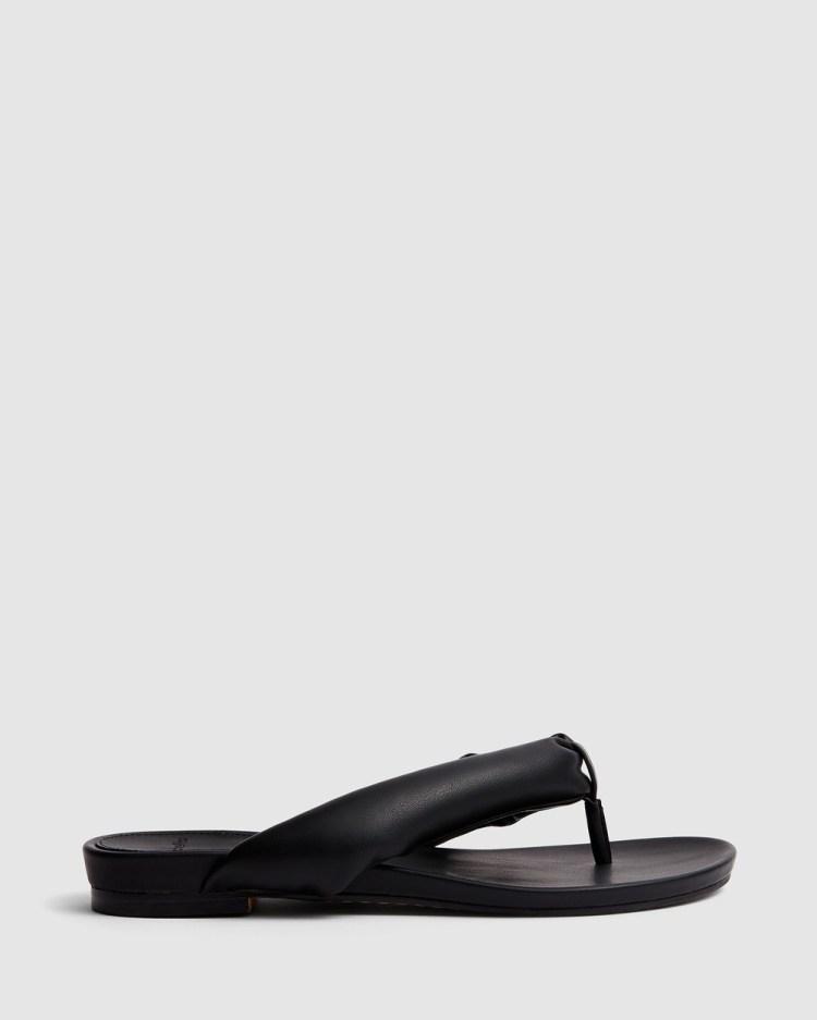 cherrichella Breeze Sandals All thongs Black