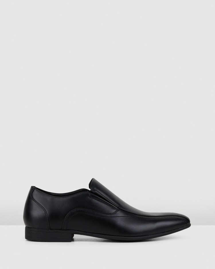 JM Orlando Dress Shoes Black