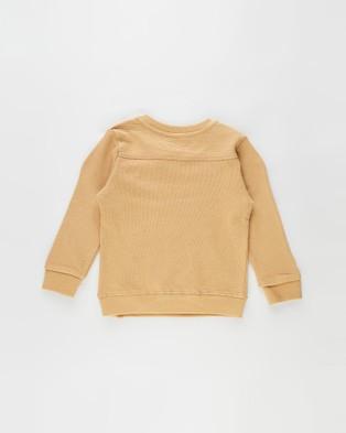 Lil' Atelier Lon Sweater Kids Sweats Apple Cinnamon