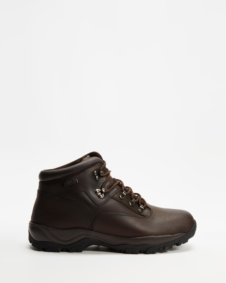 Staple Superior Hiking Boots Outdoor Shoes Brown