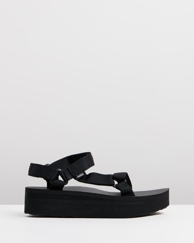 Teva Flatform Universal – Women's Sandals Black