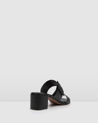 Jo Mercer Rain Low Slides Sandals Black