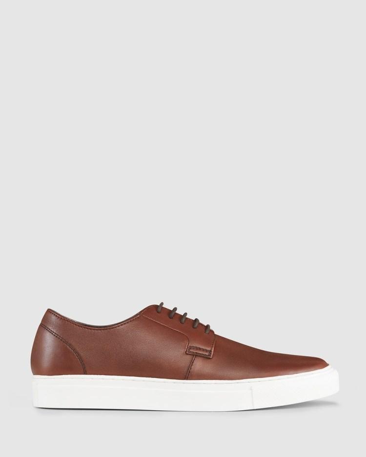 AQ by Aquila Burnie Sneakers Lifestyle Cognac
