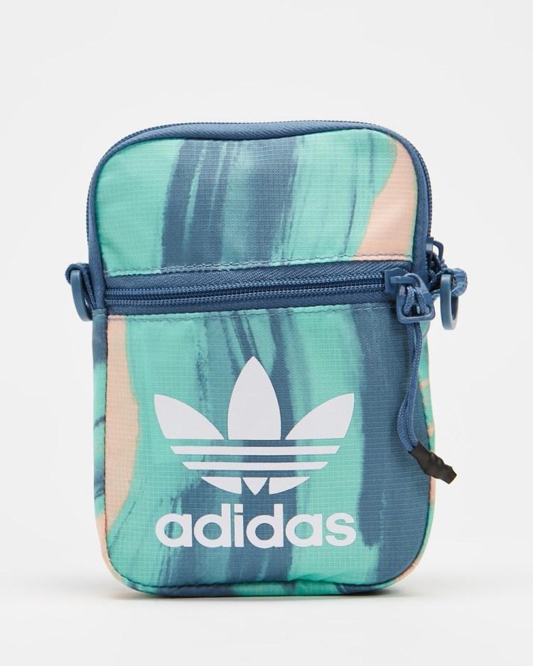 adidas Originals R.Y.V Festival Bag Bags Vapour Pink, Crew Blue & White