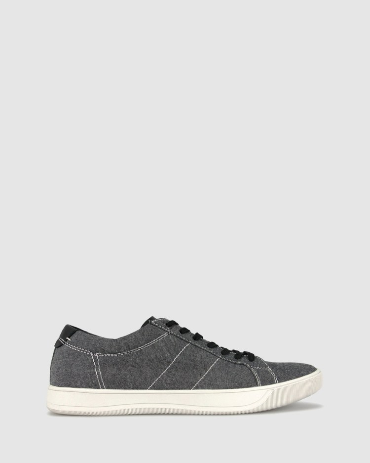 ZU Chill Canvas Sneakers Casual Shoes Black