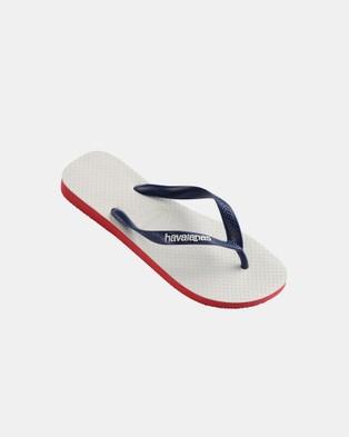 Havaianas - Original   Kids - All thongs (Ruby Red) Original - Kids