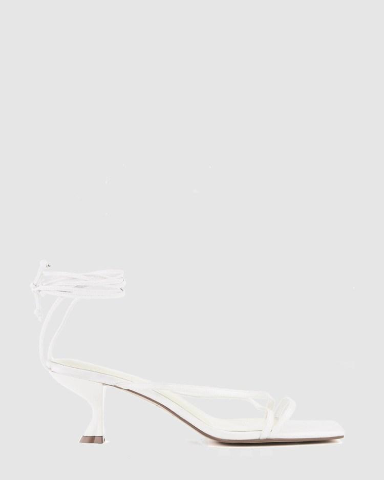 Nakedvice The Brodie Heel Heels White