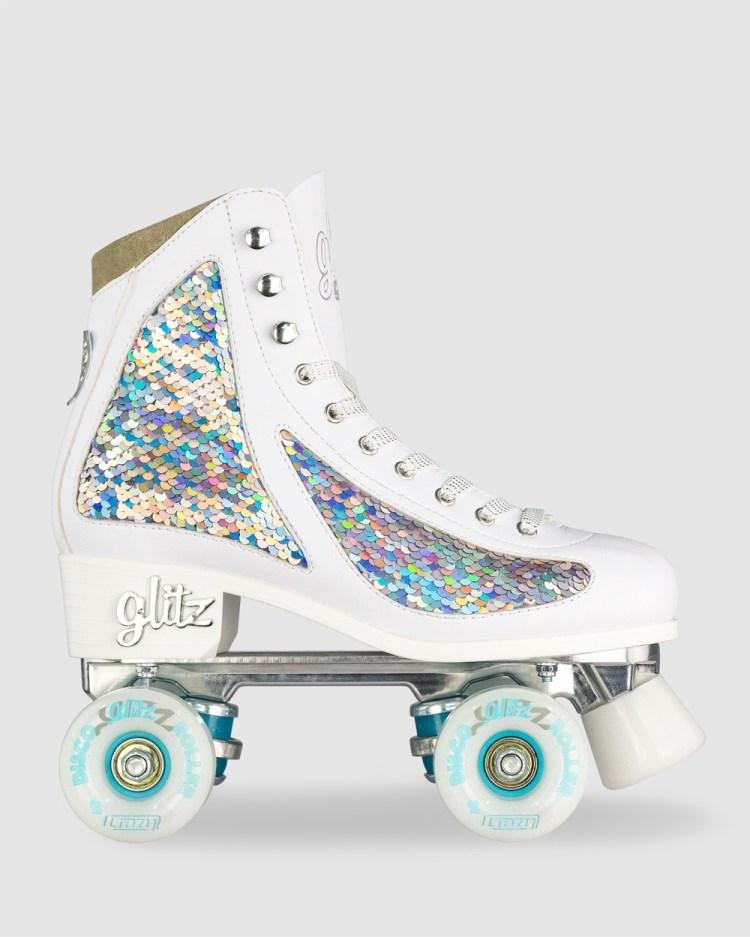 Crazy Skates Disco Glitz Performance Shoes Diamond