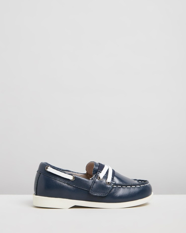 Little Fox Shoes Richmond Loafers Casual Navy