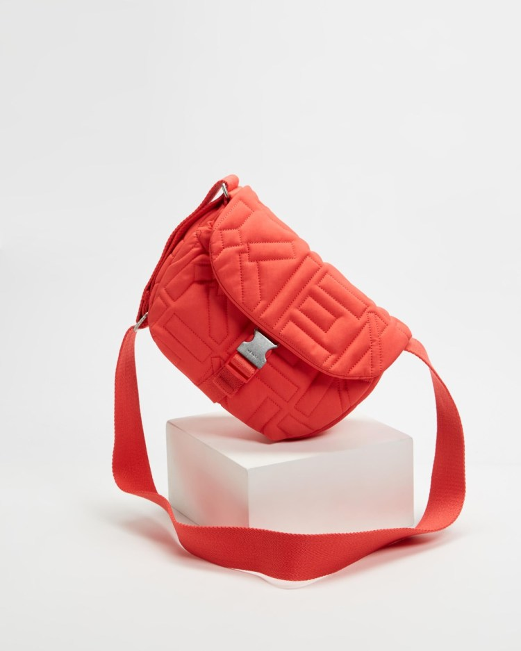 Kenzo Arctic Small Messenger Bag Bags Tangerine