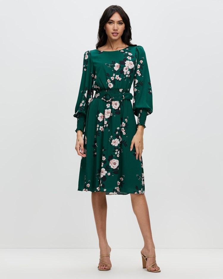 Review Emerald City Dress Printed Dresses Emerald & Multi