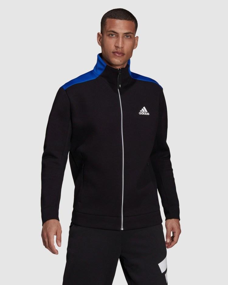 adidas Performance Z.N.E. Sportswear Track Top Coats & Jackets Black