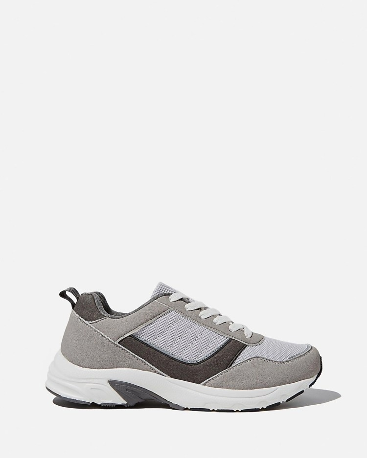 Rubi Blake Dad Trainers Sneakers Grey Multi