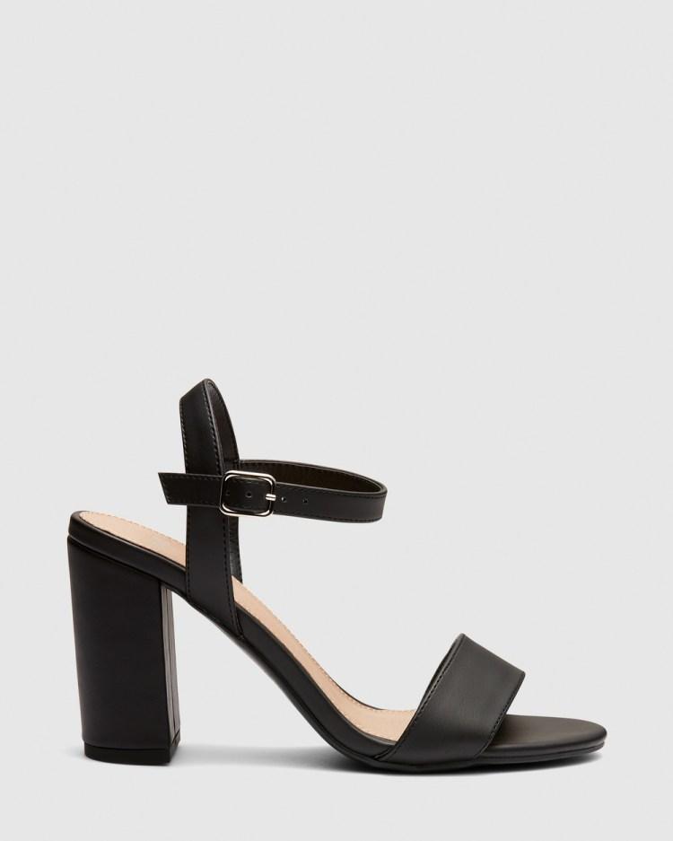 Novo Mills Heels Black