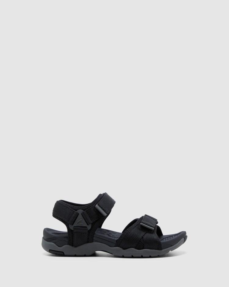 Clarks Theo Sandals Black/Grey