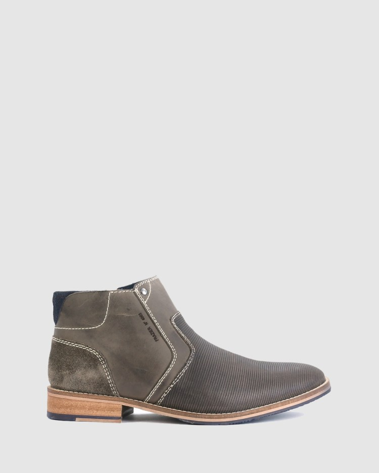 Acton Frazier Boots Grey