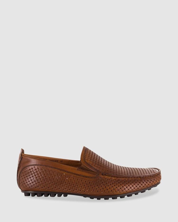 Florsheim Cascade Casual Shoes Rich tan