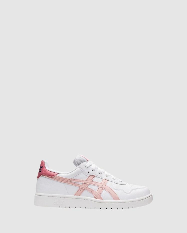 ASICS Japan Grade School Sneakers White/Ginger Peach