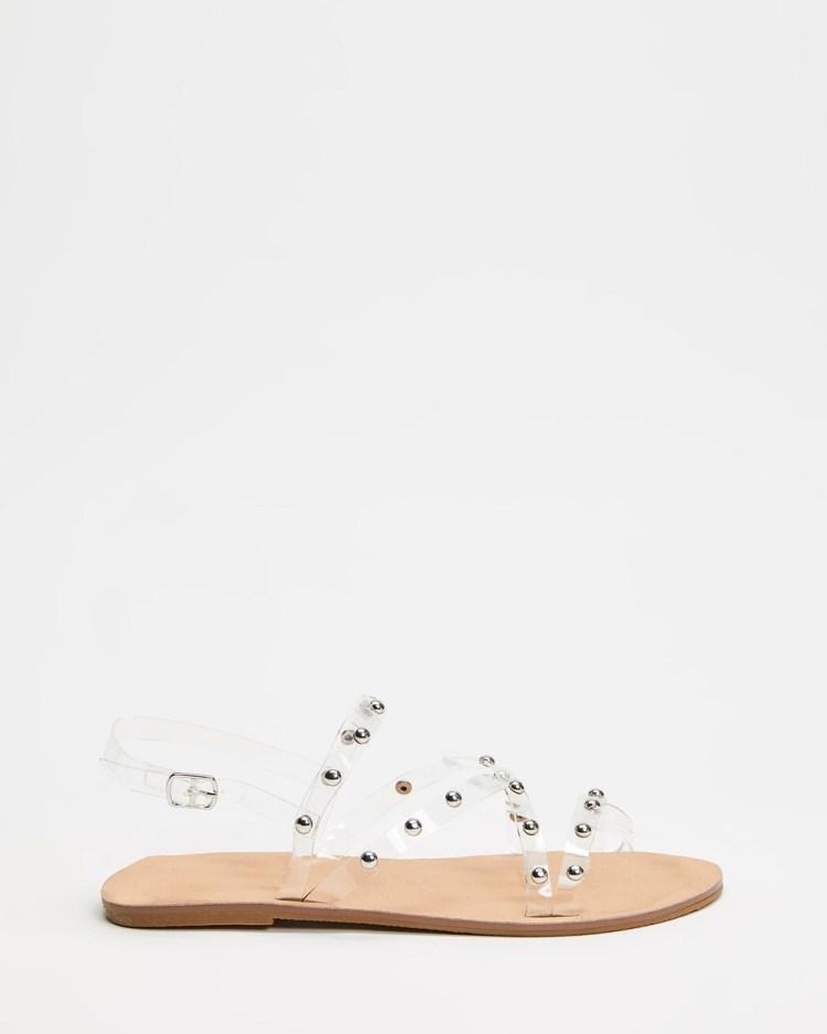 IRIS Footwear Kaia Sandals Clear