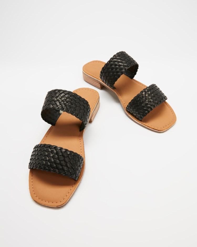 Human Premium Oasis Sandals Black