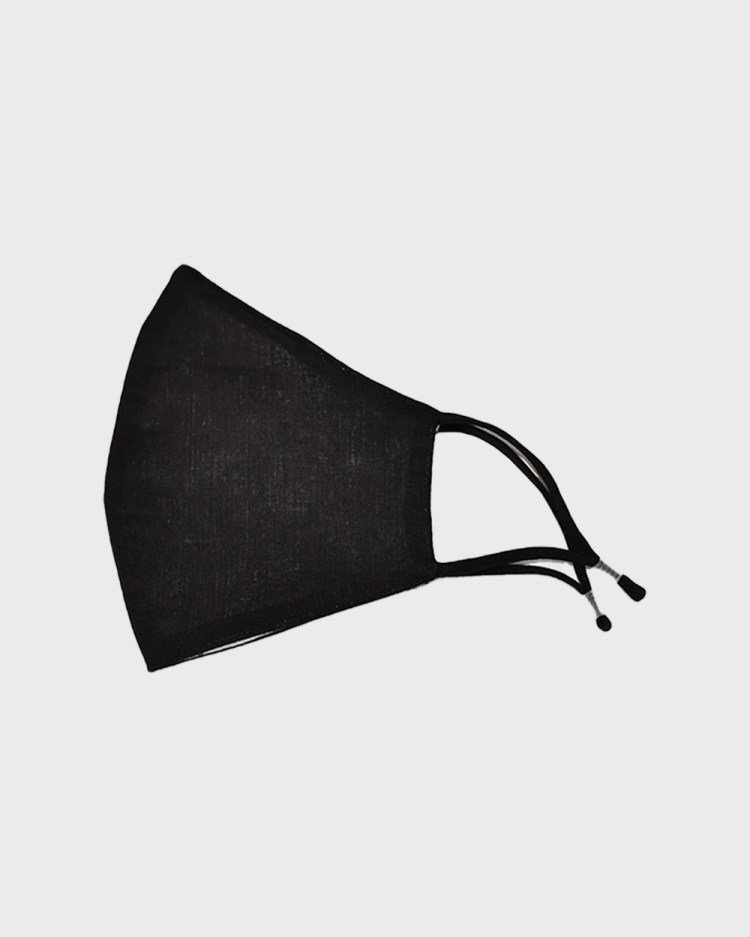 Masqe Classic Face Mask with Filter Wellness Black