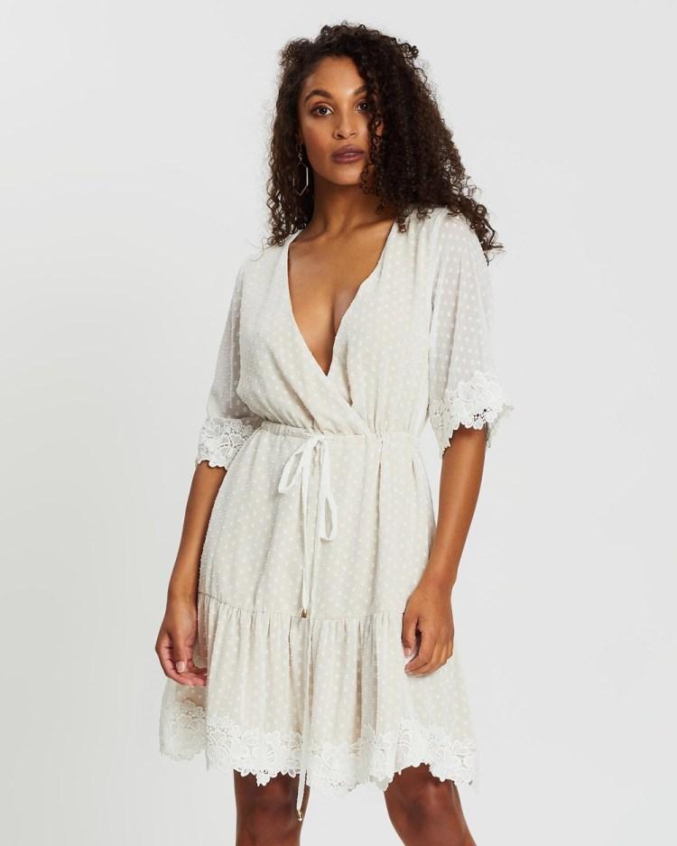 Loreta Sovana Dress Dresses White