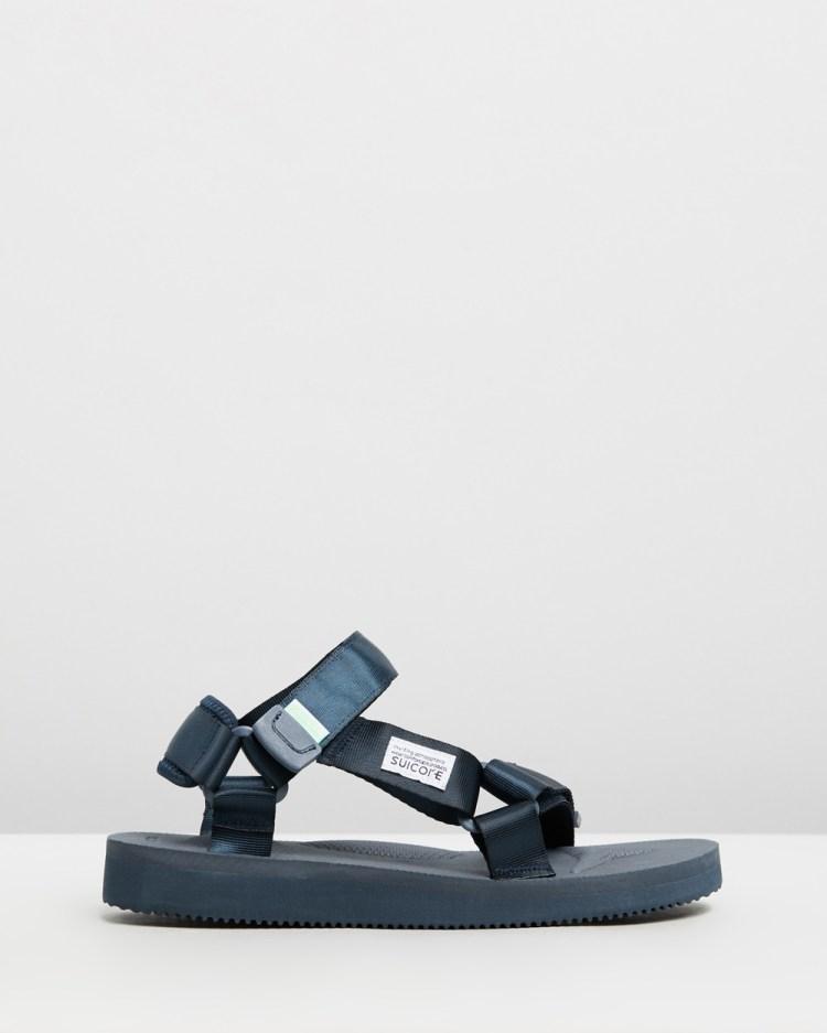 Suicoke Depa Unisex Casual Shoes Navy