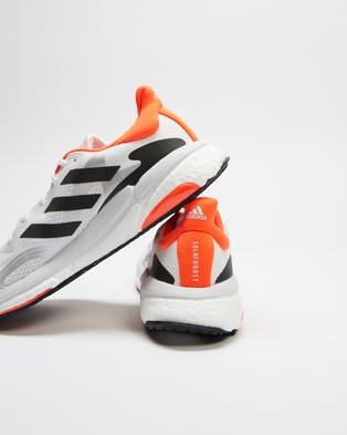 adidas Performance Solar Boost 3 Men's Training Cloud White, Core Black & Red